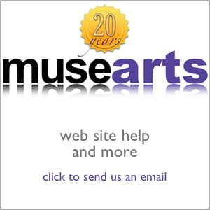 musearts web design