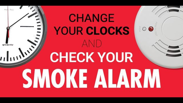 Change Your Smoke Detector Batteries When You Adjust Clocks