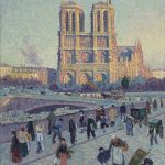 Notre Dame de Paris by Maximillian Luce