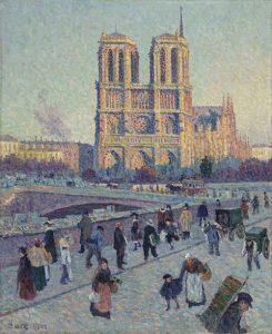 Notre Dame de Paris by Maximillian Luce