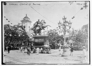 Caracas Statue of Bolivar LOC