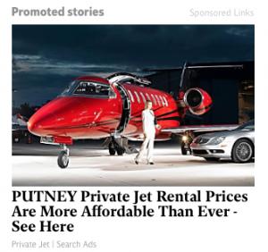 putney planes ad