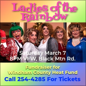 Ladies of the rainbow ad