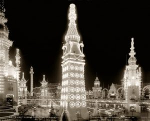 LunaPark_1905_night