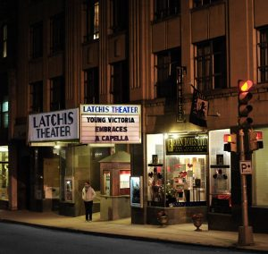 Latchis Theatre Marquee