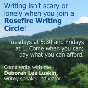 Rosefire Writing Circles